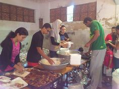 Egypt_LEO_Club_of_Alexandria_Apollo_Egypt - Leos prepared 1000 meals daily and distributed them for people in need that are fasting during Ramadan