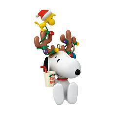 Hallmark Christmas Ornaments  Snoopy!@Marisa McClellan Pennington Foster #bemorefestive #choosetobemorefestive