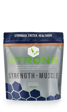 Stronger Faster Healthier Strong