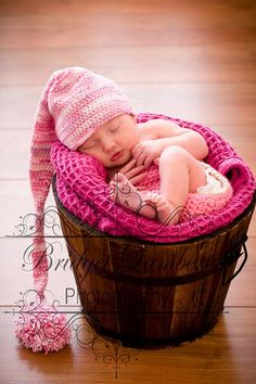 Newborn photo ideas.
