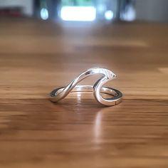 Indie Harper   Silver Wave Ring