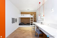 Completed in 2015 in Puszczykowo, Poland. Images by Moiz . The perforated house interior appeared in a completely rebuilt one-storey villa of the The owners, who had been living there for a couple of. Mini Loft, Big Modern Houses, Interior Architecture, Interior Design, Micro House, Apartment Renovation, Amazing Spaces, Fashion Room, Interior Lighting
