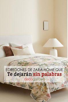 Si quieres cambiar el edredón de tu habitación, ¡este artículo te interesa! Porque hemos elegido los mejores productos para ti. Zara Home, Bed Pillows, Pillow Cases, Ideas, Home Decor, Queen Bedroom, Floral Patterns, Neutral Tones, Ruffles
