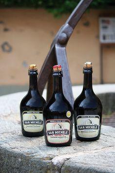 Alcune bottiglie birra San Michele