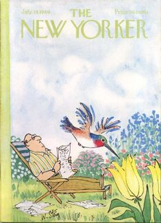 william steig, new yorker cover, july 1969