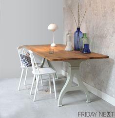 Friday next label, table, industrial, design, Dutch Design, Danish styling