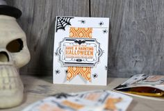 Videoserie 8 Tage Halloween - Tag 2 - Blitzverpackung mit Stampin' Up!