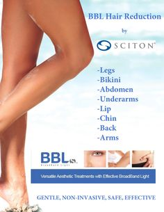BBL™ (BroadBand Light) is a state of the art light based technology that targets hair follicles for the purpose of selectively destroying them while leaving the surrounding tissue in tact allowing for little to no downtime. Call 512-401-2500 to schedule your series!