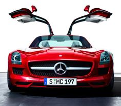 The magnificent Mercedes SLS AMG