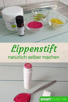 Great Nat rlichen Lippenstift mit individuellem Farbeffekt selbst herstellen