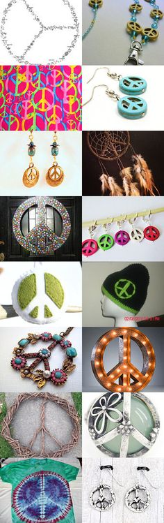 Peace Sign by Laura Bauer on Etsy--Pinned with TreasuryPin.com