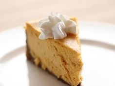 Get Pumpkin Gingersnap Cheesecake with Salted Caramel Sauce Recipe from Food Network
