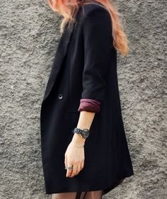 Vintage over-sized blazer.