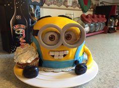 Minion Cake 8/2015