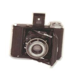 B90 Retro Camera Charm LANDSCAPE vintage // laser by zapcreatives, £1.40