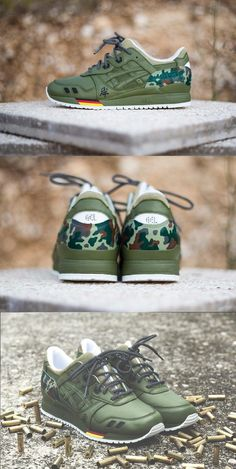 c1bc2a2aa0  Asics  Gel  Lyte 3  German  Camouflage. Shoes SneakersSneakers ...