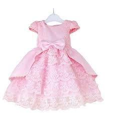 Resultado de imagem para vestido de renda infantil