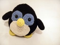 Looking for a great pattern to begin crocheting amigurumi? This penguin is your guy!