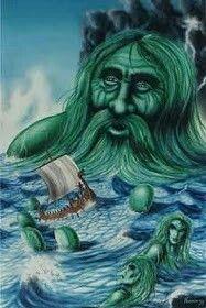 Aegir O Senhor dos Mares e Oceanos, um Jotun...