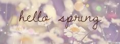 Get this Hello Spring Facebook Covers for your profile from Get-Covers.com.