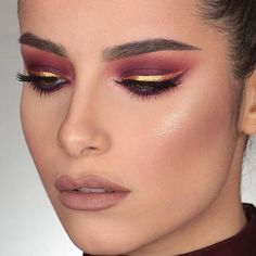 """NABLA Cosmetics on Instagram: """" Dazzle Liner in Klimt is the star of this jaw-dropping look by @mrdanielmakeup on the beautiful @kay.morello  He also used Neptune"""" Brow…"""""""