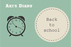 Calendar main back to school