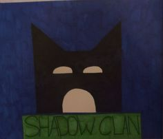 Warrior cat series : Shadowclan, the symbol. Iknow I know i got the eyes wrong XP but it still looks pretty good. :)