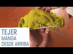 Tejer manga abullonada iniciada desde arriba fácil 💡 Ideas de Lucila - YouTube Knit Crochet, Crochet Hats, Knitting Stitches, Arm Warmers, Stitch Patterns, Eyeliner, Mtv, Blog, Youtube