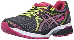 ASICS Womens GelFlux 3 Running Shoe BlackSilverSport Pink 85 M US * You can find out more details at the link of the image.