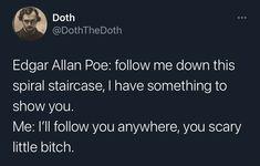 Halloween Humor, Edgar Allan Poe, Funny, Edgar Allen Poe, Hilarious, Entertaining, Fun