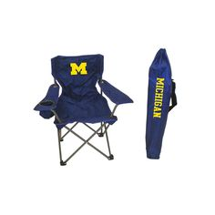 Michigan Wolverines Ncaa Ultimate Junior Tailgate Chair