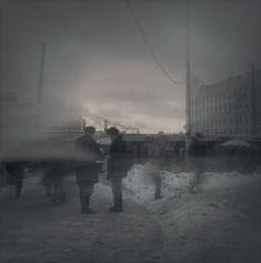 Evening smog (Asking for a cigarette), 1995 - St. Petersburg - Alexey Titarenko