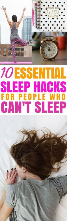 These 10 sleep hacks are the best! I'm so glad I found these GREAT sleep tips! Now I have some great ways to have a better sleep and get my beauty rest! Definitely pinning! #lifehacks #beautyblog #beautytips #skincare
