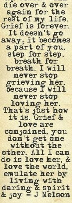 This is so true. Every day I go through that morning of the phone call with the worst of all news. Sister Love Quotes, Grief, Love Her, News, Phone, Telephone, Mobile Phones