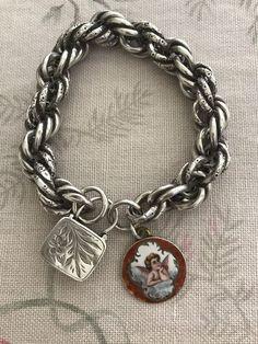 charm Vintage bracelet cherub
