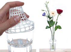We zetten de bloemetjes buiten: 3D Printspiration met 10 speciale bloemenvazen - www.3Dprinters.nl