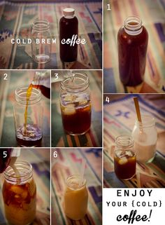 Cold Brew Coffee summer treats | Elayna Ruth