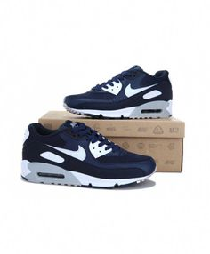 size 40 f8ba5 6d894 Nike Air Max 90 premium leather upper for comfort and durability,flex  grooves for natural movement