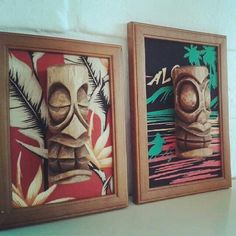 Polynesian Art, Polynesian Culture, Vintage Tiki, Vintage Hawaiian, Tiki Head, Pin Up, Tiki Bar Decor, Tiki Lounge, Tiki Mask