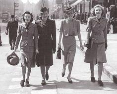 1930-40's daytime fashion