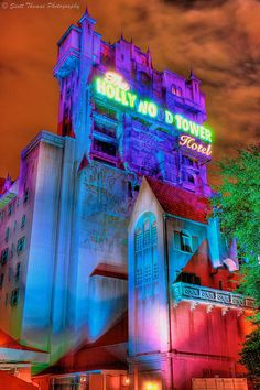 Tower of Terror. Probably in my top 3 favorite rides at Disneyland/ California Adventure. :)