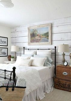Cool 70 Modern Rustic Farmhouse Master Bedroom Ideas https://wholiving.com/70-modern-rustic-farmhouse-master-bedroom-ideas