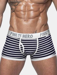 Gender: Men Briefs & Boxers: Boxer Shorts Pattern Type: Striped Brand Name: pink heroes Material: Cotton Model Number: Men's Briefs, Boxer Briefs, Casual Sweaters, Sweaters For Women, Elephant Sweater, Boxers Underwear, Attractive Men, Workout Videos, Patterned Shorts
