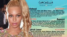 Beyonce & Kendrick Lamar Set To HEADLINE Coachella 2017