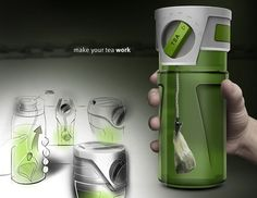 Love it!! Thermos with timer for your tea