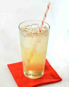Cream Soda Syrup (the one we watched being made on the Martha show)
