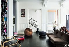 Italian Vogue Editor Franca Sozzani's Paris Townhouse Photos | Architectural Digest