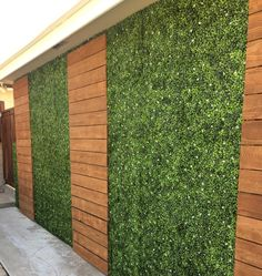 2019 Artificial Plant Wall Hedge Lawn Boxwood Hedge Artificial Lawn Garden Backyard Home Decor Simulation Grass Turf Rug Lawn Outdoor Flower Wall From. Backyard Patio Designs, Yard Design, Backyard Landscaping, Landscaping Ideas, Jardin Vertical Artificial, Artificial Plant Wall, Artificial Boxwood, Artificial Turf, Artificial Hedges