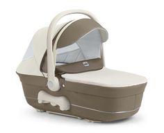 Cam Kinderwagen Dinamico UP brown-creme by CAMSPA Italy für Baby und Kind