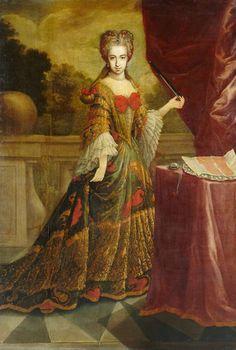 1700-1710 Spanish School - Doña Jerónima María Spinola de la Cerda, X Duquesa de Medinacelli
